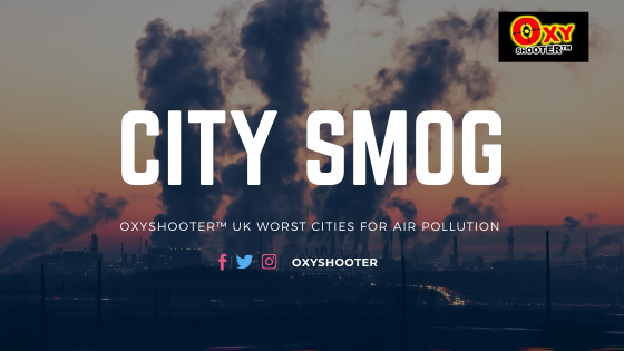 The top 10 cities in the uk with the worst particle pollution